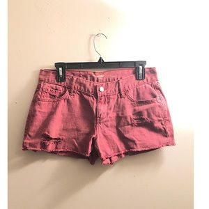 Old Navy / Maroon Semi - Fitted Shorts